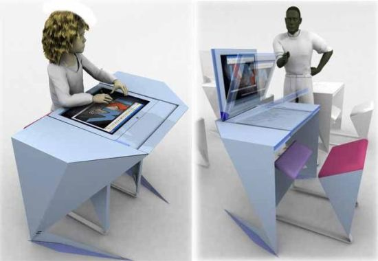 RM Delta workstation/ desk concept for future classrooms ...