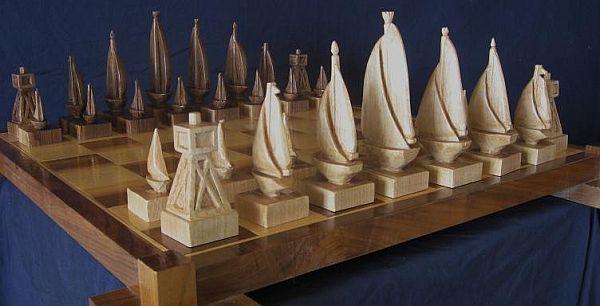 sailboat chess set 2011