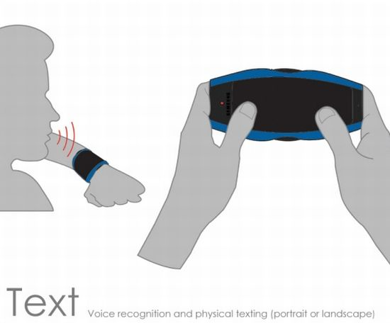 samsung nerve wearable communication device 7