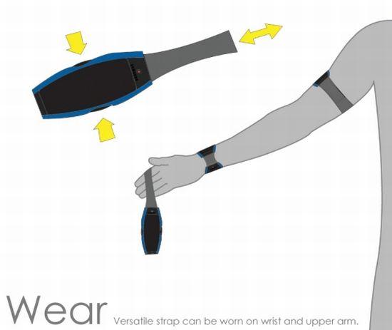 samsung nerve wearable communication device 8