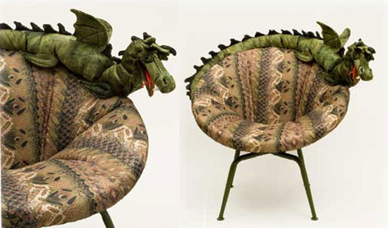sea serpent chair