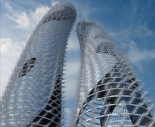 Self-sufficient skyscrapers