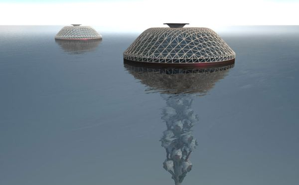 Self-sufficient underwater structures