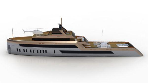 Sentori OPEN WATER 60 M Explorer Yacht