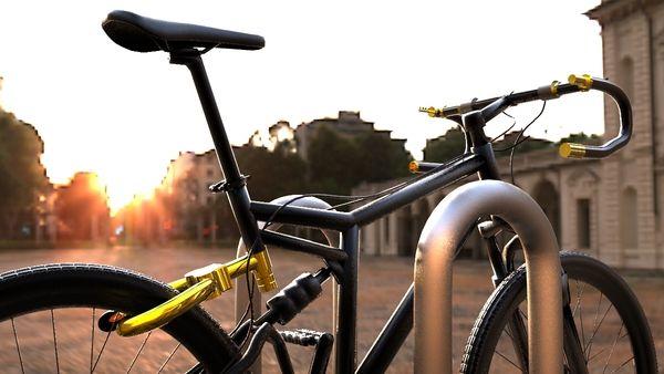 senza bike lock system