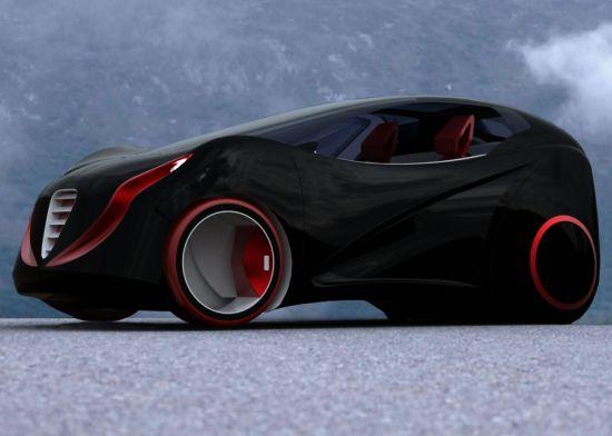serpent electric concept car