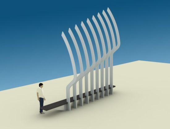 serpentine bench 02