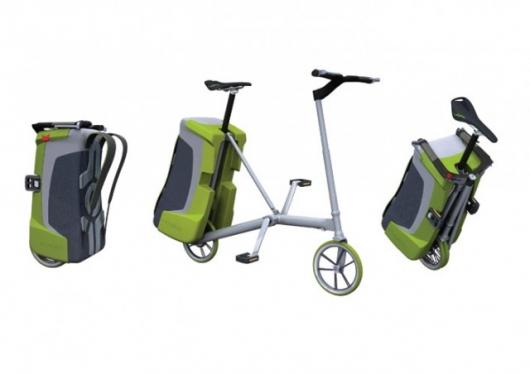 Shape-shifting bicycle
