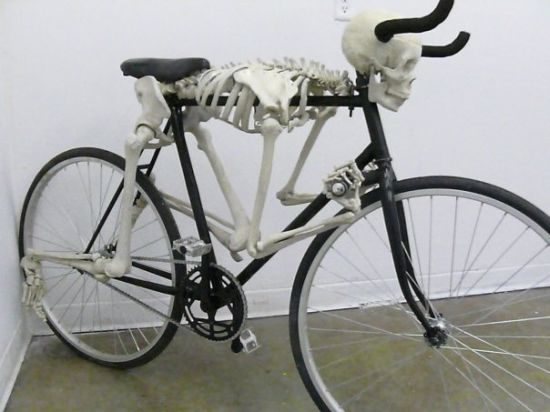 skeletal bicycle