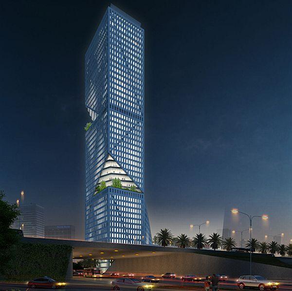 Shenzhen Interchange A Benchmark In Skyscraper Design