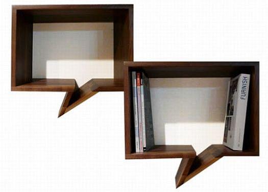 small comic bookshelve
