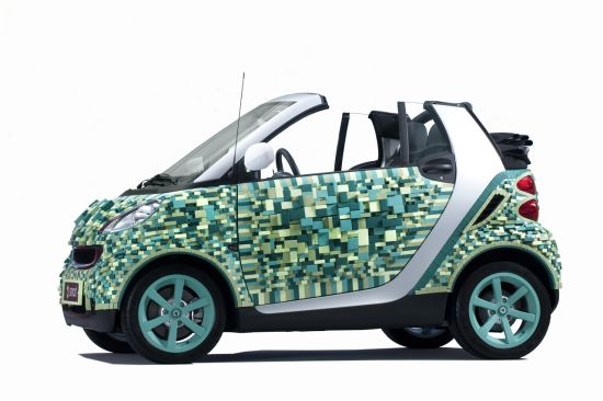 smart for two cardboard car 1