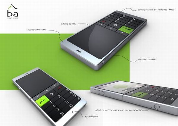 smart rotative phone