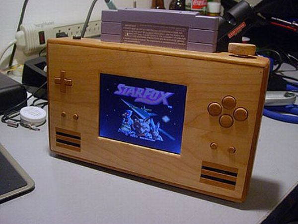 SNES game console