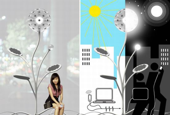 solar energy lamp 01