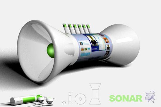 sonar visual music player