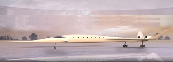 SonicStar supersonic business jet concept