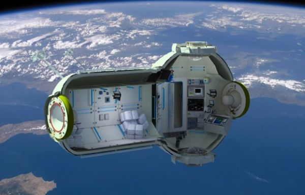 Space Hotel Concept
