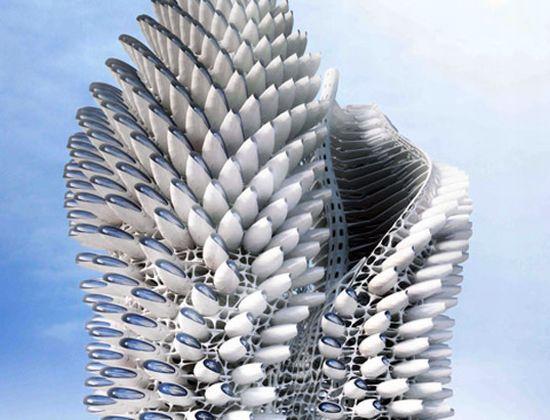 spiraling skyscrapers 01