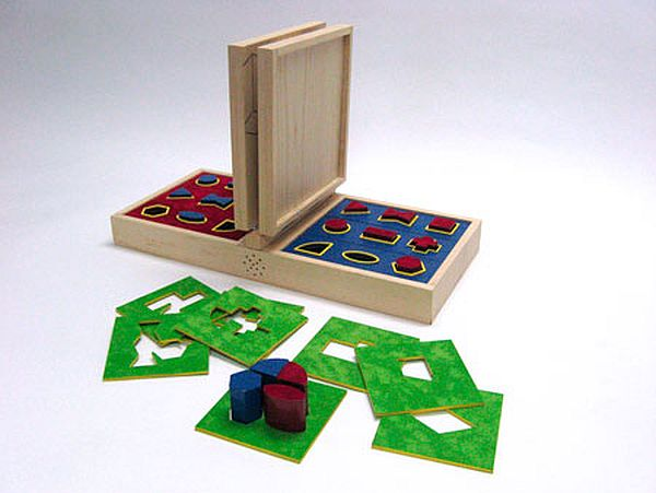 SQUARE OFF - a toy for visually impaired children