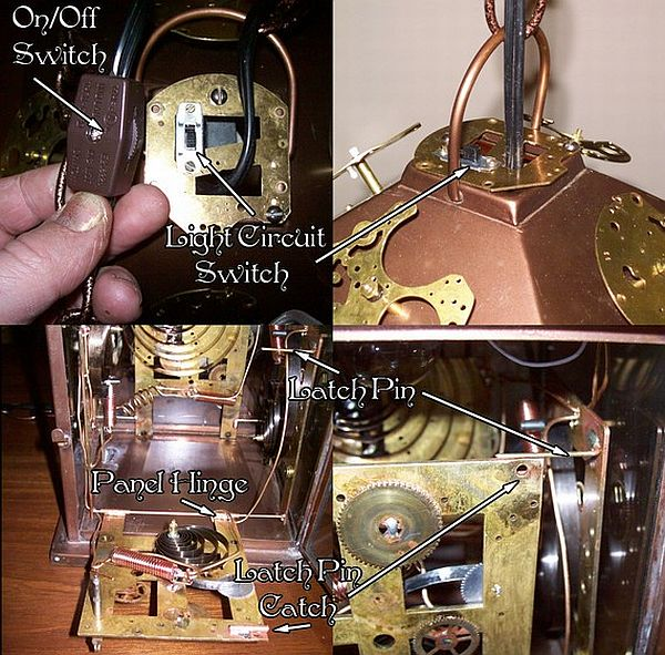 steampunk lamp with 2 circuits 02