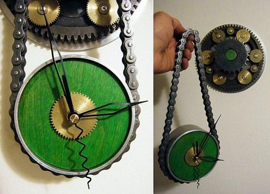 steampunk wall clock 01 97iuk 58