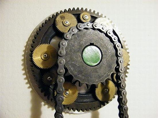steampunk wall clock 02 jxe9x 58