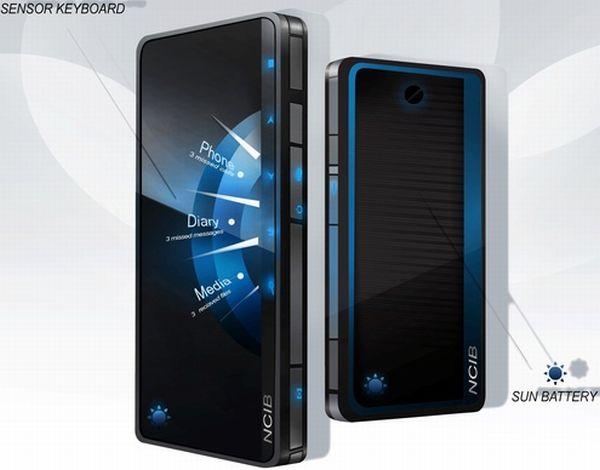 Sun battery mobile