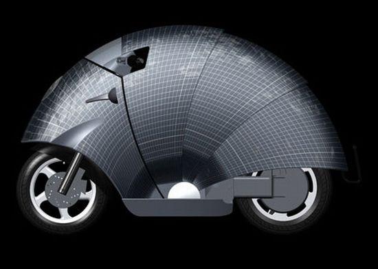 sunred solar moped 01