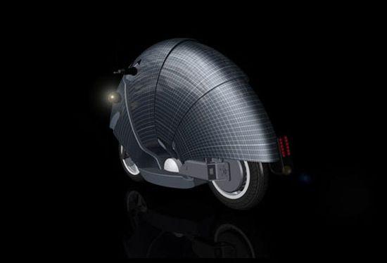 sunred solar moped