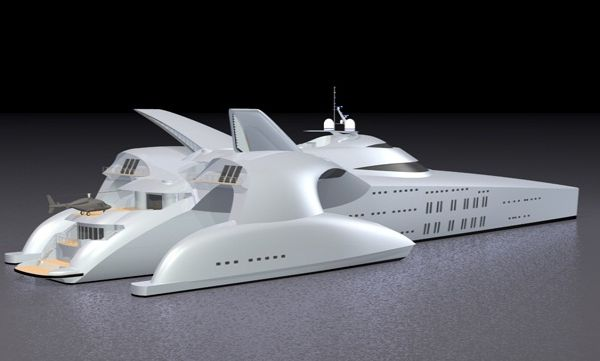 Superyacht Moonset Concept