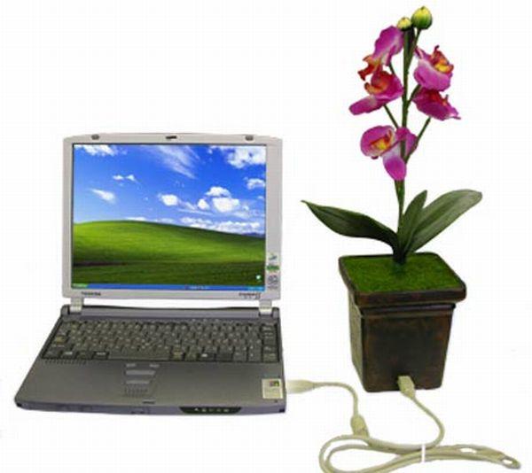 Thanko USB Flower Pot Speaker