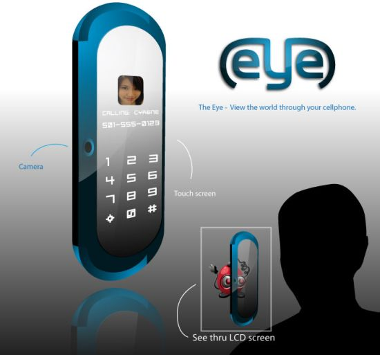the eye cell phone concept 01