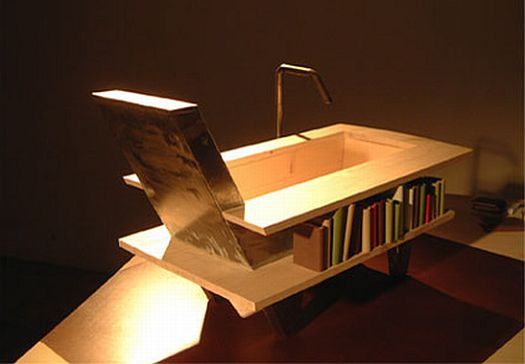 the library bath