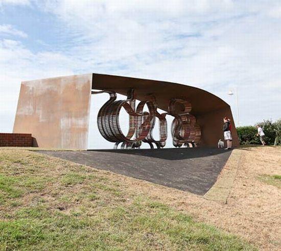 the longest bench by studio weave 5