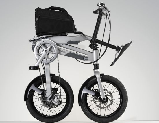 the mercedes folding bike  02