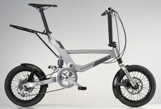 the mercedes folding bike  03