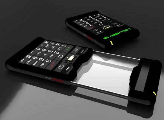 the old futuristic phone 01