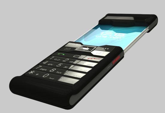 the old futuristic phone 06