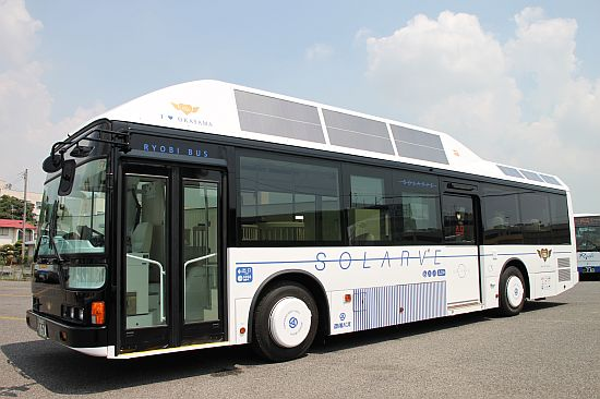 the solarve bus by sanyo 1
