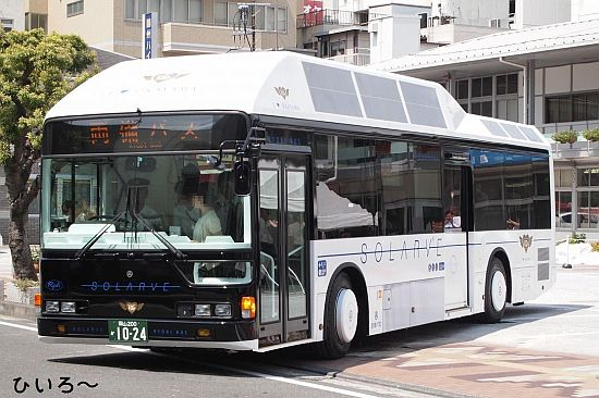 the solarve bus by sanyo 2