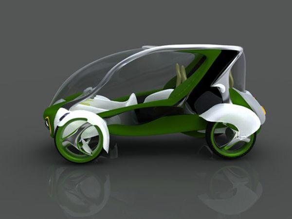 The E1-Ecodrive Taxi