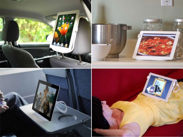 The Infinite Loop Tablet and Smartphone Stand