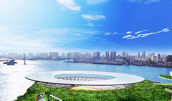 Tokyo solar-powered stadium