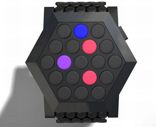 tokyoflash hexagon watch concept 01