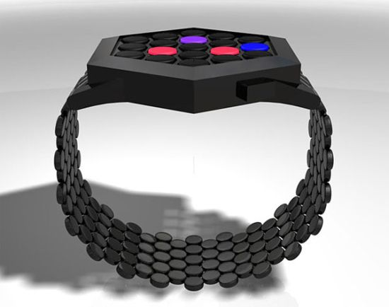 tokyoflash hexagon watch concept 02