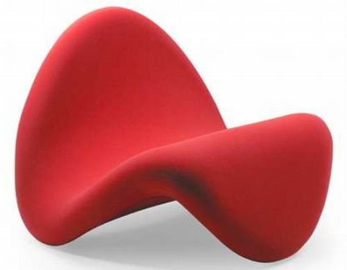 Tongue Chair Worth Drooling Over Designbuzz