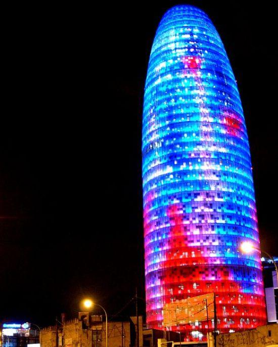 torre agbar led VG33i 11446