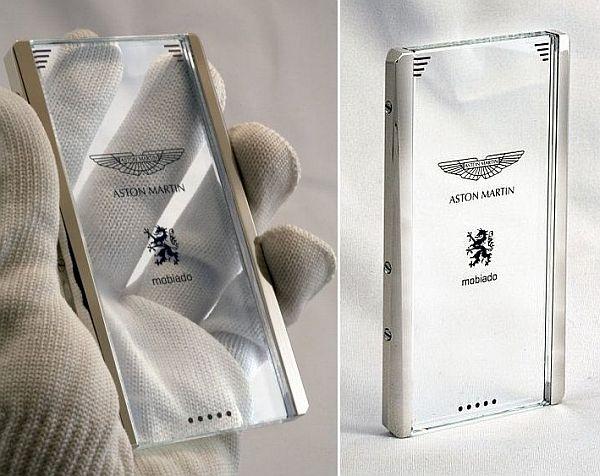 transparent droid phone concept