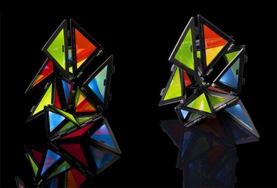 transparent light origami1